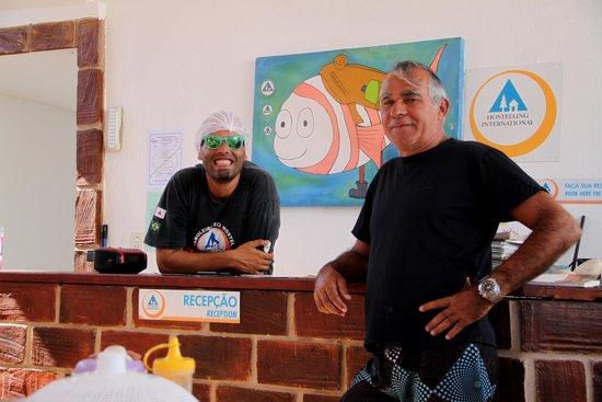 Jeri Brasil Hostel: Ramis sempre alegre
