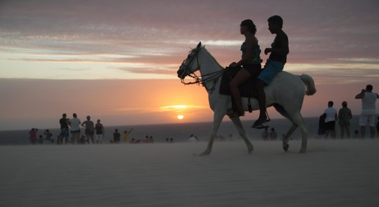 Jeri Brasil Hostel: Duna do Por do Sol