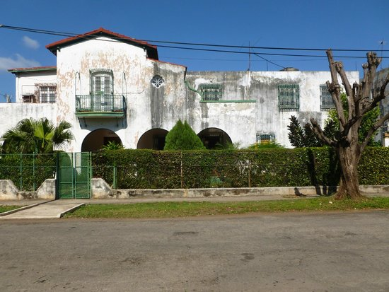 View of Casa Diana from across the street
