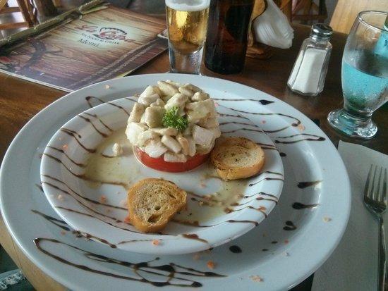 La Ostra Sea Food & Grill: Ceviche especial de pescado