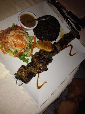 Villa Royale: Meat kebab