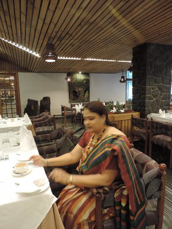 Hotel Broadway: Very nice ambiance with delicious food