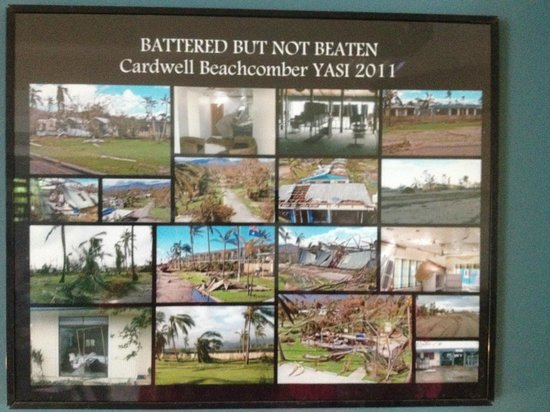 Beachcomber Motel: History of cyclone Yasi