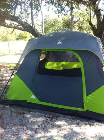 Fort Pickens Campground: tenting on B loop