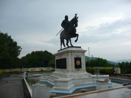 Maharana Pratap Memorial: Rana Pratap on Chetak
