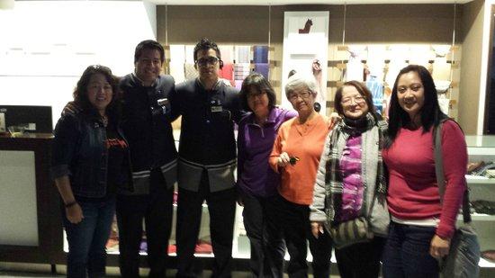 Casa Andina Select Miraflores: At the lobby