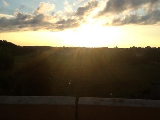 Radisson Blu Resort, Terme di Galzignano: sunrise