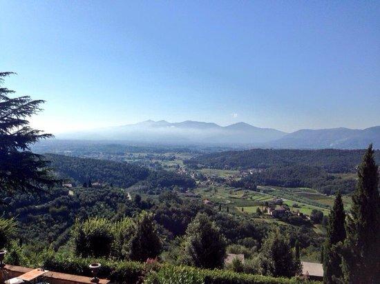 Relais La Cappella: The view of views!