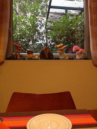 Hotel Le Meditel : La salle de petit déj est sa déco !!!