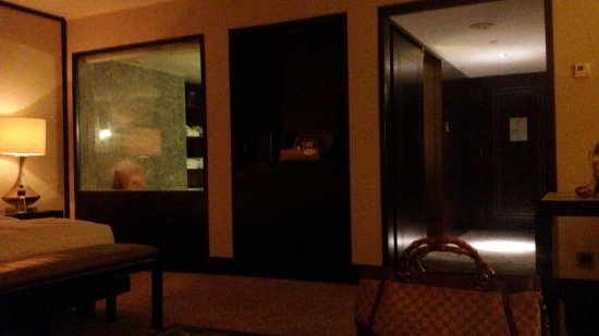 Mandarin Oriental Jakarta: view of the entrance and walking closet from the room