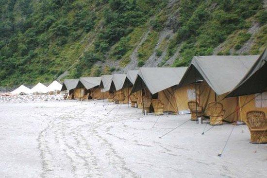 Camp Gold Coast: tents