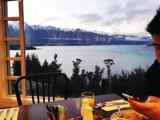 Mercure Resort Queenstown: View dari tempat breakfast