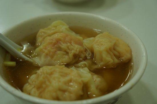 Mak Man Kee Noodle Shop: エビワンタン