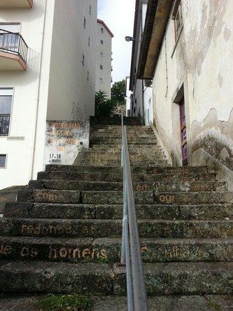 Escadas da Trapa: Escadas