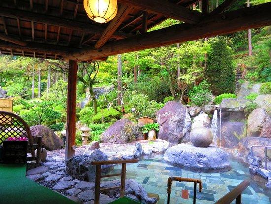 Yumoto Hotel Achigawa : 露天風呂