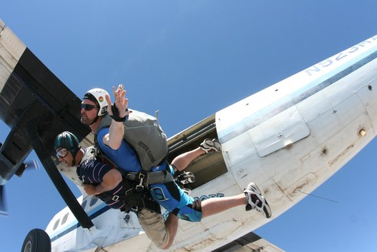 Skydive Elsinore: The leap of faith