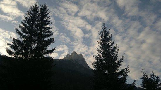 Camping Catinaccio Rosengarten: good morning clouds