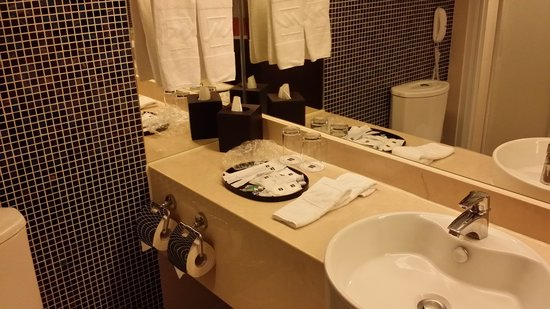 Metropark Hotel Kowloon : Bath room