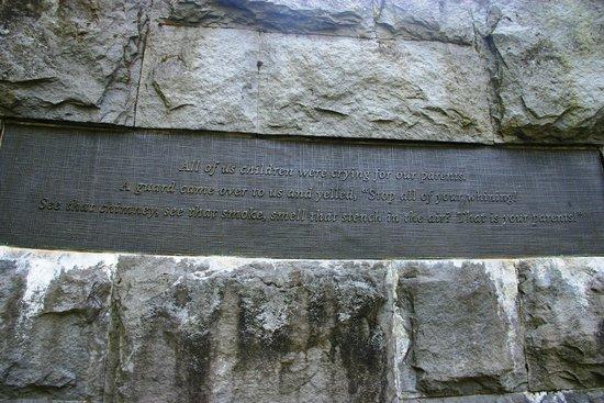 Oregon Holocaust Memorial: Victim memories