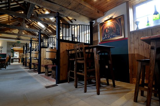 The Saddle Room Restaurant : Inside