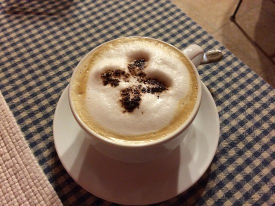 Massoni Bed & Breakfast: Superb morning cappuccino