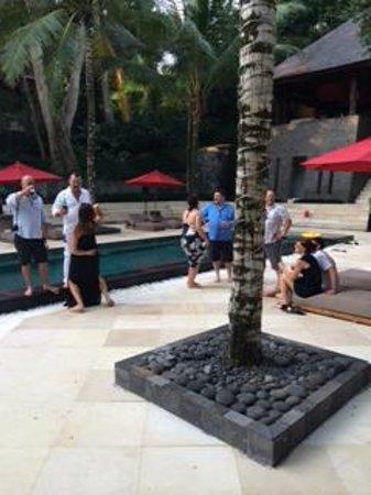 Villa The Sanctuary Bali: Party time at Sanctuary