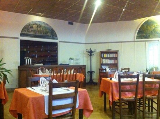 Hotel du Lion D'Or Restaurant : salle interieure
