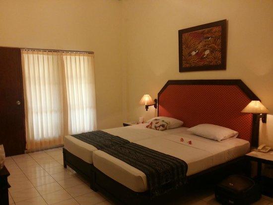Aditya Beach Resort : Inside de room