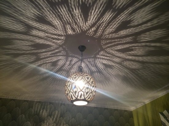 The Angel Hotel: The funky light