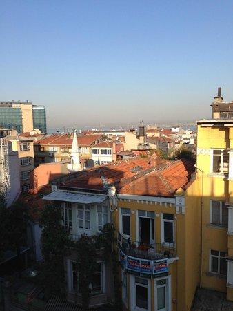 Khalkedon Hotel Istanbul: вид с террасы