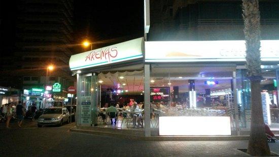 Cafeteria Restaurante Arenas