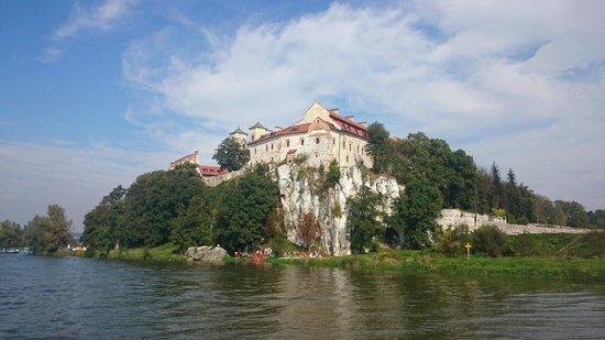 Benedictine Abbey of Tyniec: Widok od strony Wisły