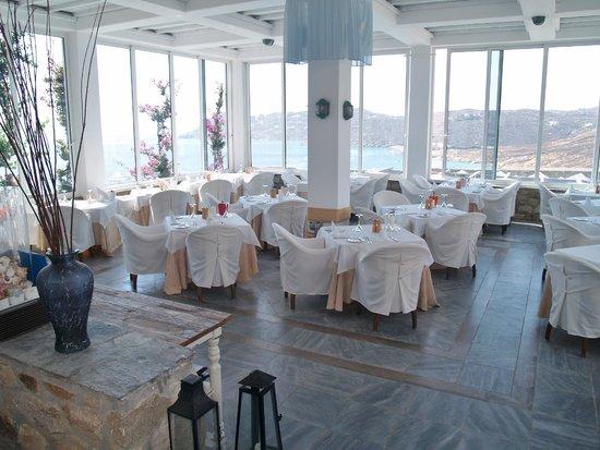 Royal Myconian: salle dîner