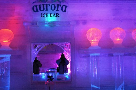 The Aurora Ice Museum: Ice bar