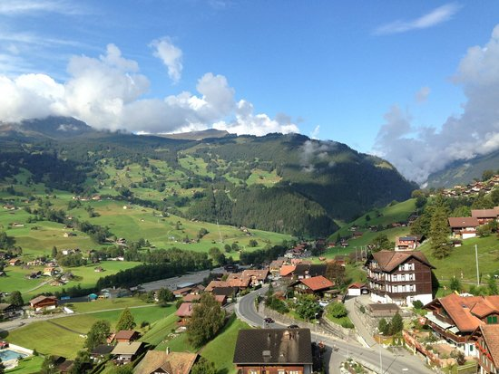 Belvedere Swiss Quality Hotel: Vista verso sud/overt