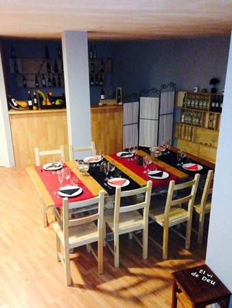Restaurante el vi de deu en sant cugat del vall s con cocina tapas - Restaurante materia prima sant cugat ...