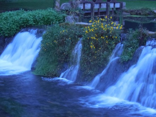 The Manor House Hotel and Golf Club: the weir