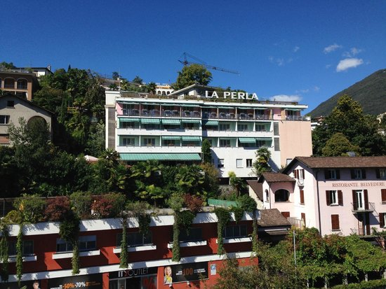 Hotel La Perla : view from room