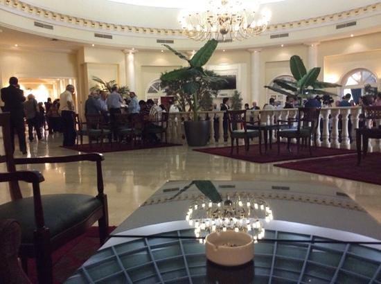 Hotel Acropole : future president? presting at the acropole