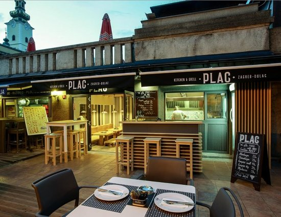 Kitchen Amp Grill Plac Picture Of Plac Zagreb Tripadvisor