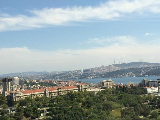 Hilton Istanbul Bosphorus: view of the Bosphorus