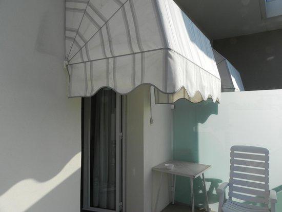 Hotel Consuelo: le pare soleil de la térrasse