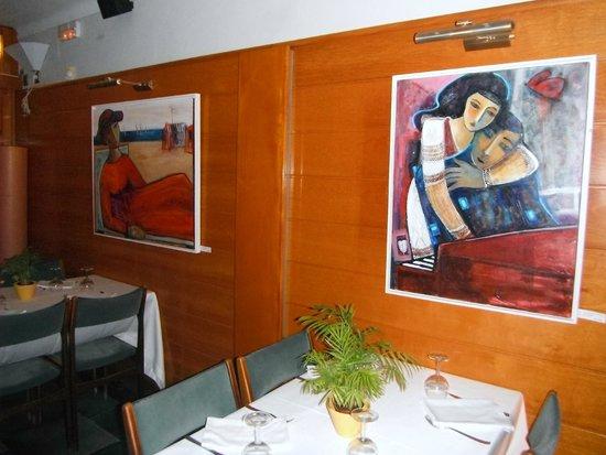 Restaurant Hotel Picasso: une 2ème petite salle plus intime