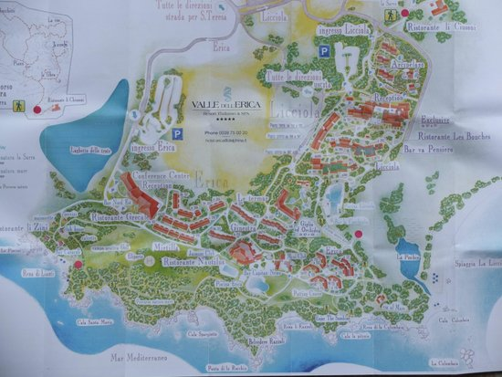 Resort Valle Dell'Erica Thalasso & Spa: Plan global du site