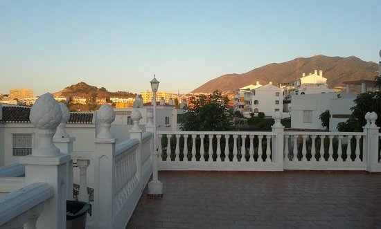 HOTEL BETANIA: View from Terrace towards the Hills