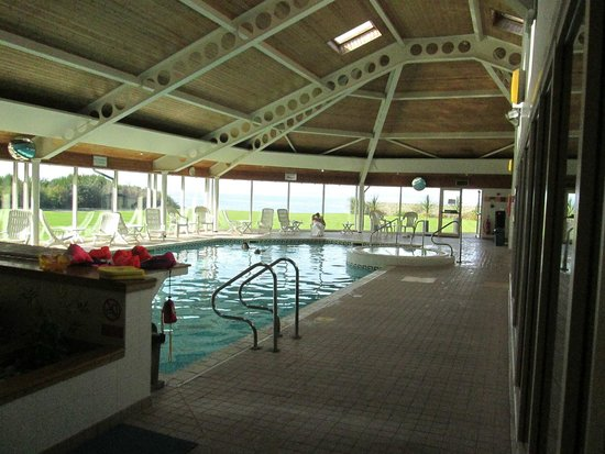 Golf View Hotel & Spa: The leisure centre and spa dowmstairs.