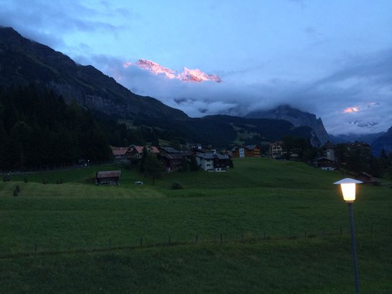 Hotel Berghaus: View from our balcony