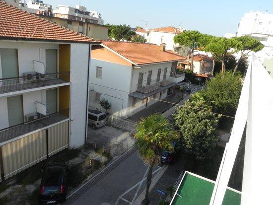 Hotel Consuelo: Vue côté mer