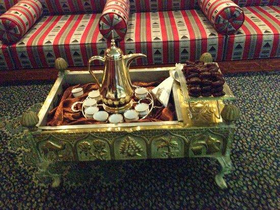 Roda Al Murooj: In Dowstairs Breakfast area