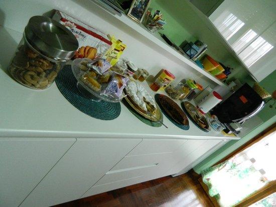 Assisi: Il buffett della colazione